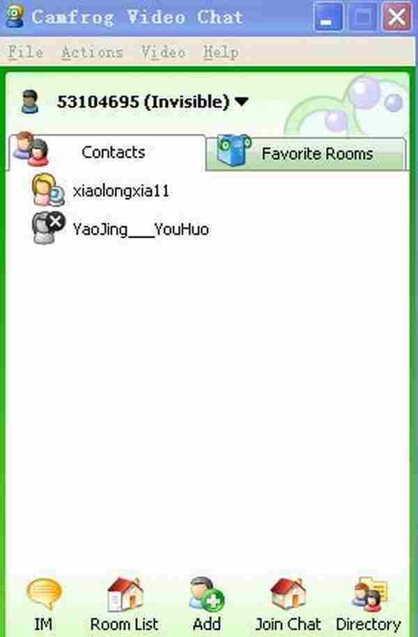 cf视频聊天软件下载 国外视频聊天